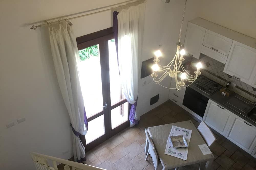 Appartamento Santa Maria , 1 camera da letto, vista giardino - Зона гостиной
