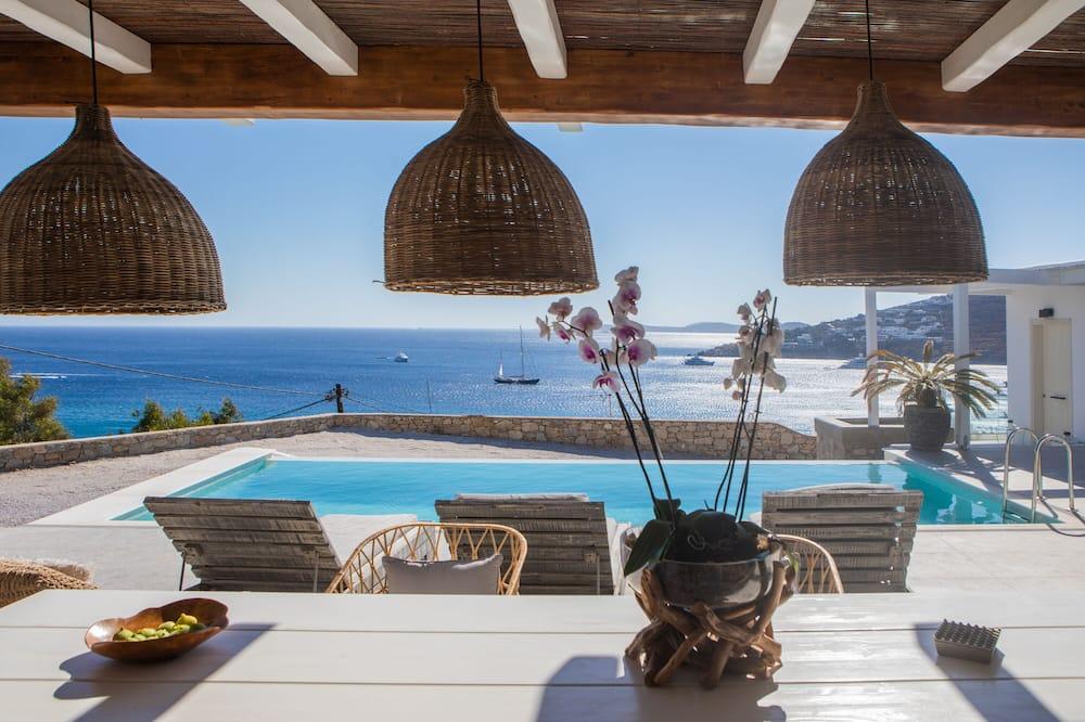 Villa, 3 soverom, privat basseng - Balkongutsikt