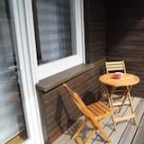 شقة (Ferienwohnung 7) - شُرفة
