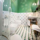 Apartmán typu Comfort, 2 ložnice, výhled do zahrady - Koupelna