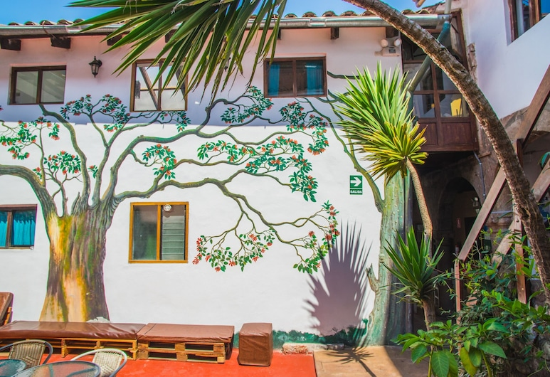 Tucan Hostel, Cuzco, Innenhof