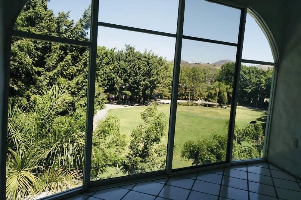 Izba typu Basic, 1 dvojlôžko, výhľad na záhradu - Výhľad na záhradu