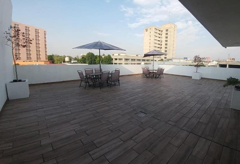 Montemorelos Suites, Guadalajara, Teras/Veranda