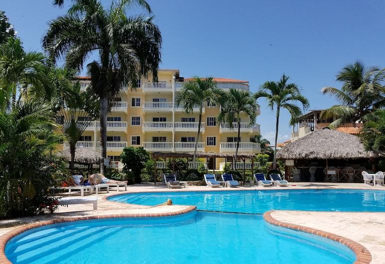 Las Palmeras I Mamajo & Riki, Boca Chica, Piscina al aire libre