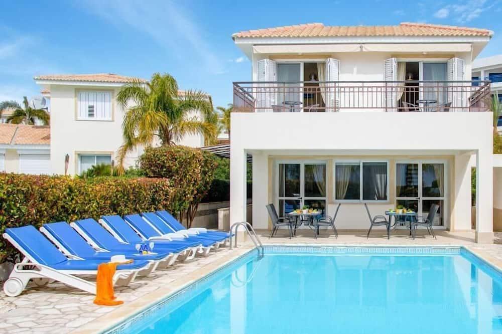 Villa, četras guļamistabas, privāts baseins - Privātais baseins