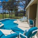Domek, 4 ložnice - Venkovní bazén