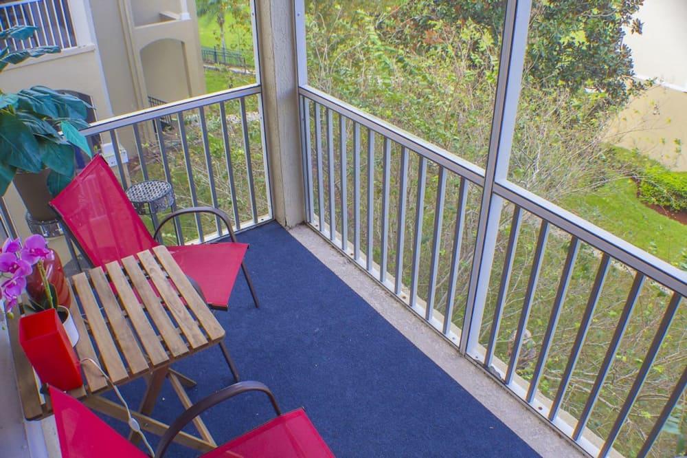 Apartman, 3 spavaće sobe - Balkon