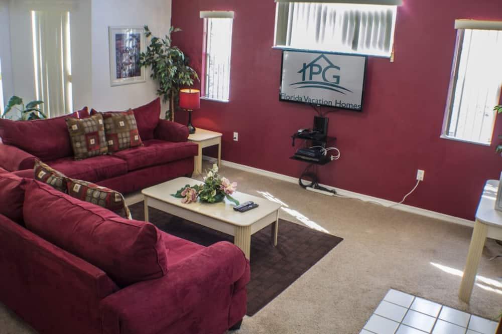Byt, 3 spálne - Obývacie priestory