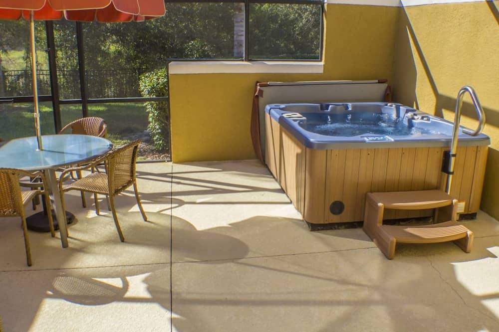 聯排別墅, 2 間臥室 - 室外 Spa 池