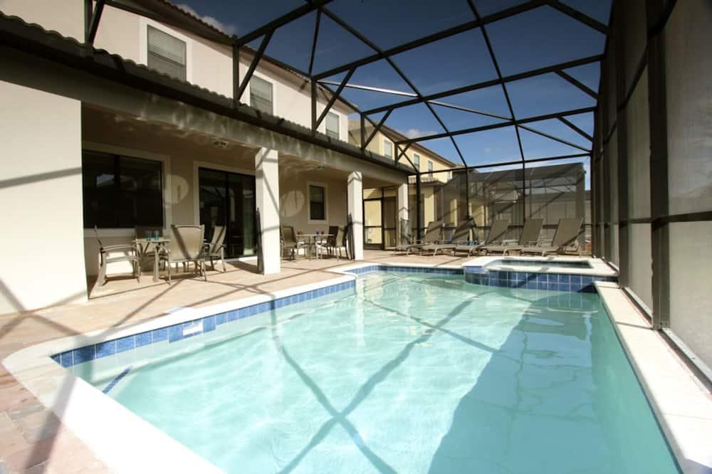 House, 6 Bedrooms - Indoor Pool