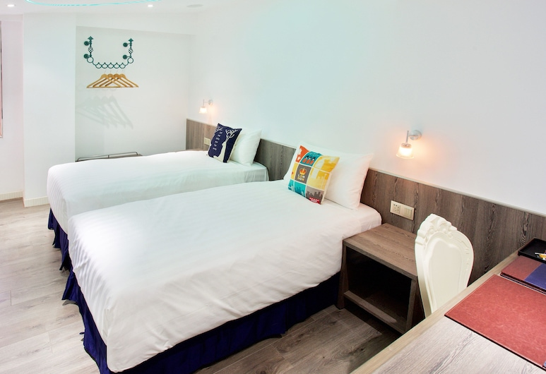 Blues Hotel, Taichung, Business Double or Twin Room, Guest Room