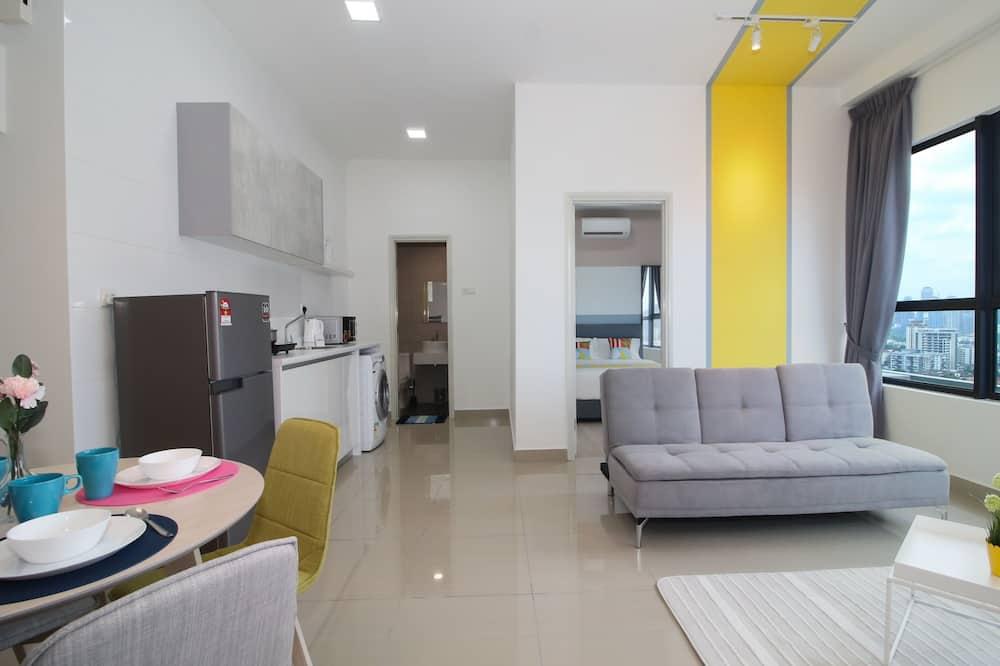 Classic Condo - Living Area