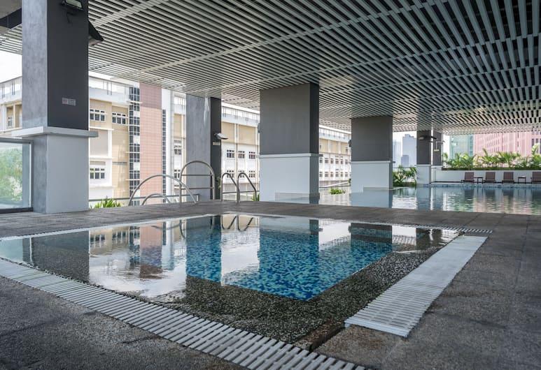 OYO 791 奢華 2 房住宅之家飯店, 吉隆坡, 室內/室外游泳池