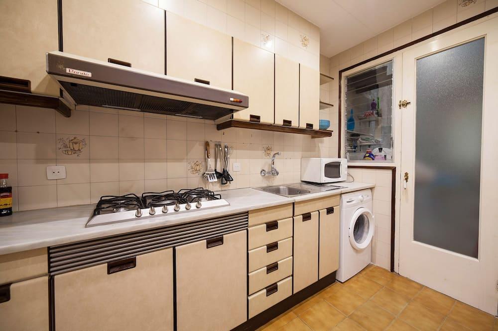 Dormitorio compartido, dormitorio mixto, baño compartido - Cocina compartida