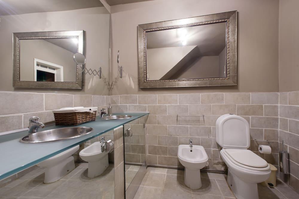 公寓, 2 間臥室, 壁爐 - 浴室