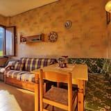 公寓, 1 間臥室, 山谷景 - 客房內用餐