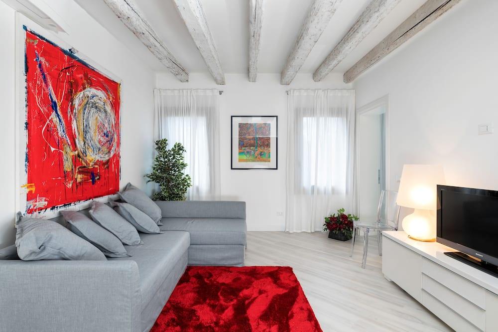 Luxury-Apartment, 2Schlafzimmer, Stadtblick (Biennale 2) - Wohnzimmer