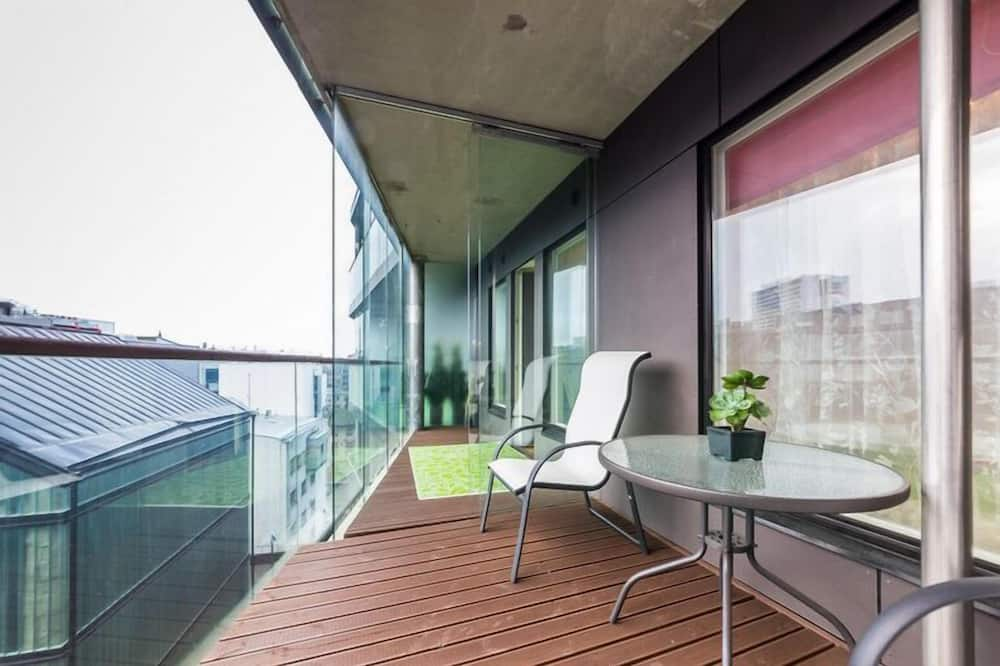 Apartmán, 1 spálňa, terasa (Narva street 5) - Terasa