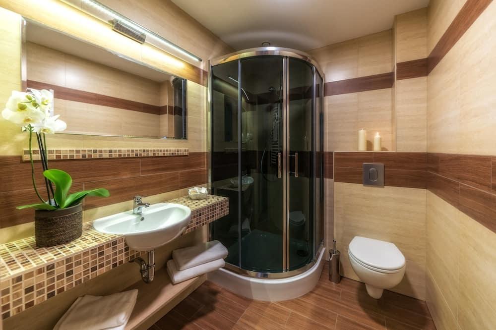 Premium-dobbeltværelse - terrasse - bjergudsigt - Badeværelse