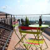 Luxury Double Room, 1 Queen Bed, Balcony, Sea View - Balcony