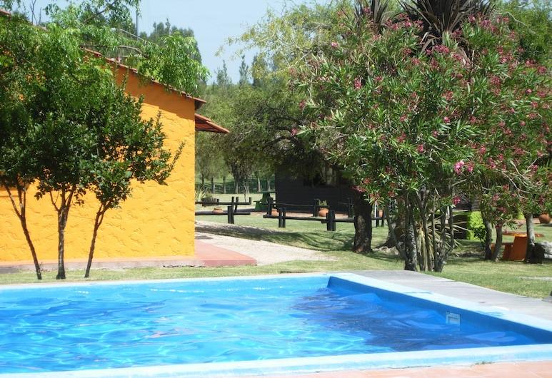 Hotel Punta Pueblo, Juan Soler, Chambre Standard, plusieurs lits, vue jardin, Vue sur la cour