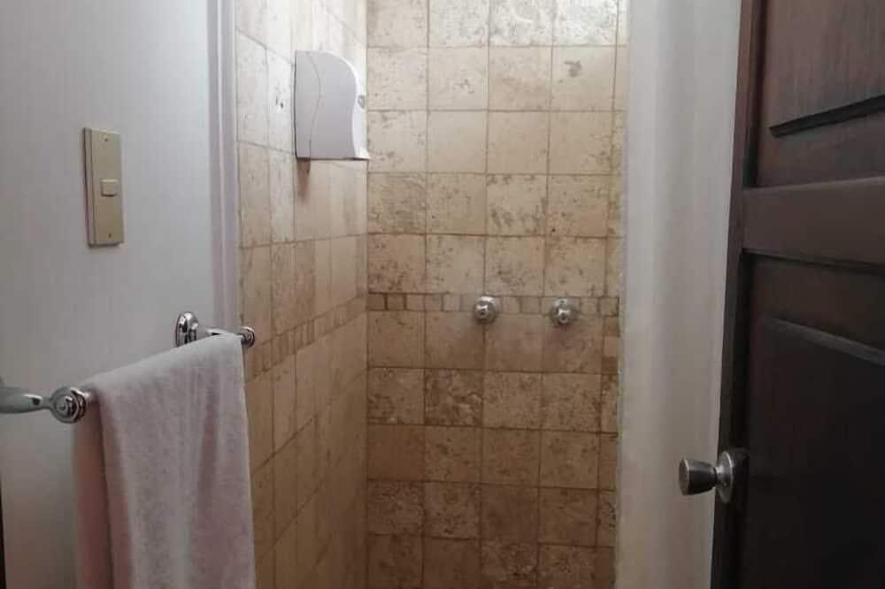 Standartinio tipo kambarys (1 dvigulė / 2 viengulės lovos), 1 standartinė dvigulė lova - Vonios kambario dušas
