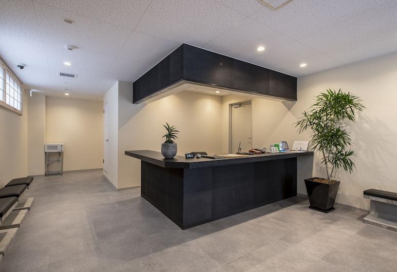 Uhome Akihabara Nakagawa Inn, Токио, Стойка регистрации