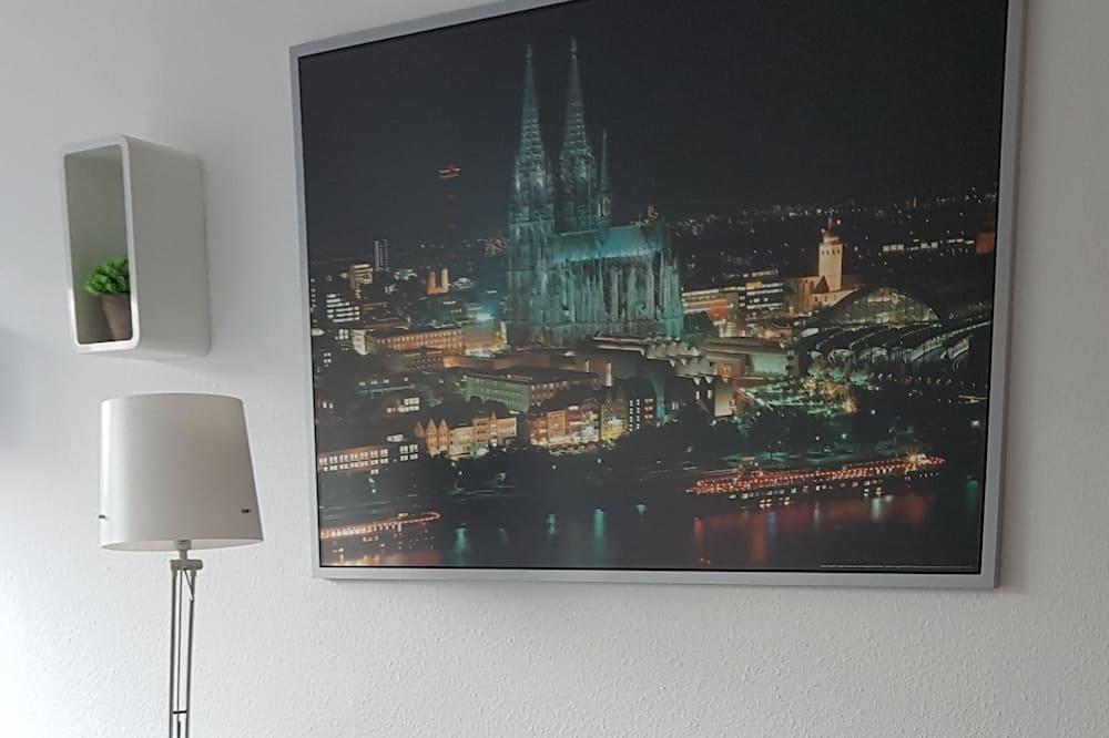 Monolocale comfort (35, incl. end cleaning fee €30) - Area soggiorno