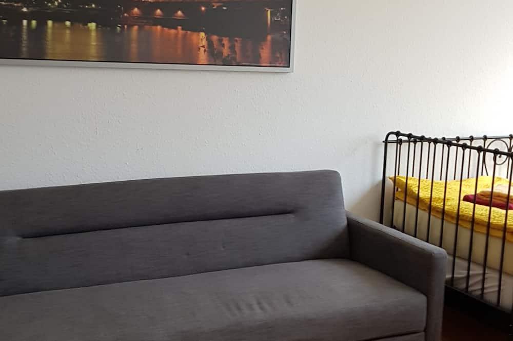 Monolocale Economy (42, incl. end cleaning fee €30) - Area soggiorno