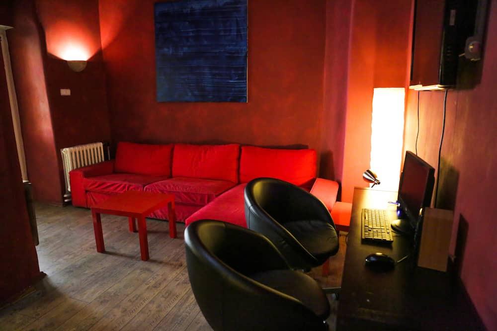 Bed in 6-Bed Dormitory Room - Área de estar