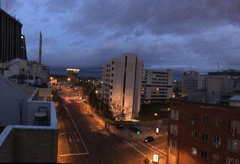 Atico Puerta de Europa, Madrid, Penthouse, 1 kamar tidur, teras, pemandangan kota, Pemandangan dari kamar