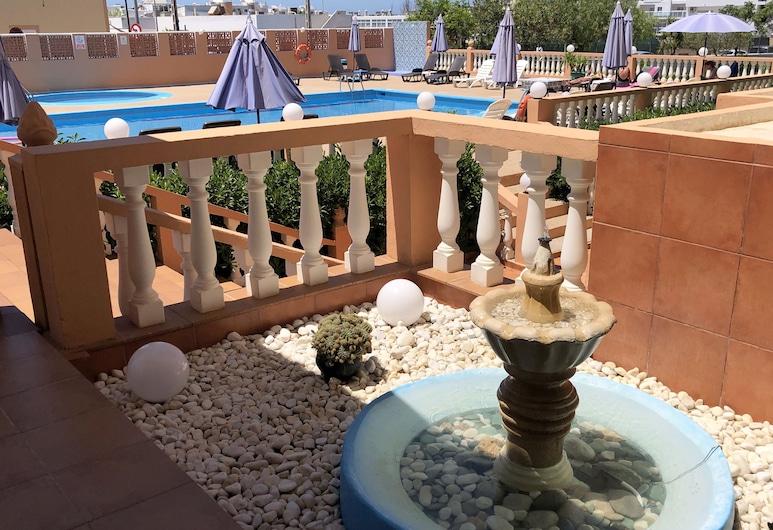熱帶之友公寓酒店, 桑特霍塞普德薩塔萊阿, 花園