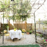 Dobbeltrom, 1 queensize-seng, terrasse - Terrasse/veranda