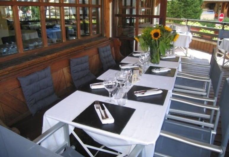 Hotel Chalet Saint Georges, Megeve, Terrace/Patio