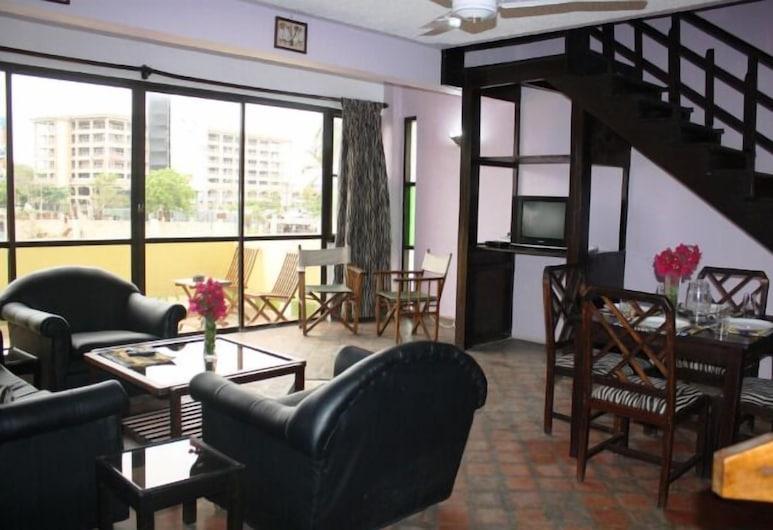 Planet Apartments, Mombasa, Külaliskorter, 1 magamistoaga, Lõõgastumisala