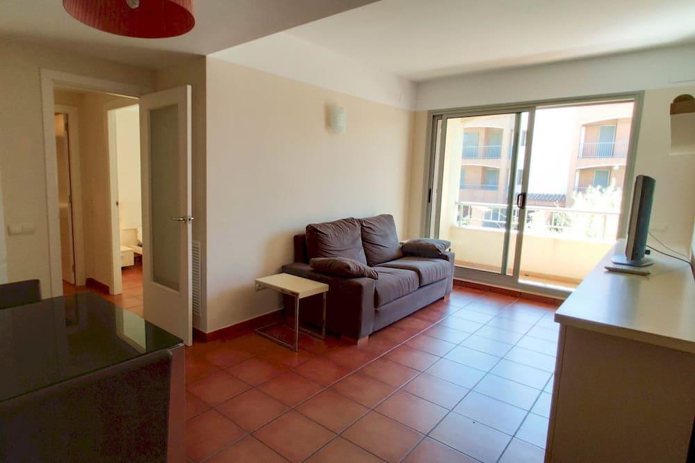 Apartment, 1 Bedroom, Terrace, Sea View - Living Area