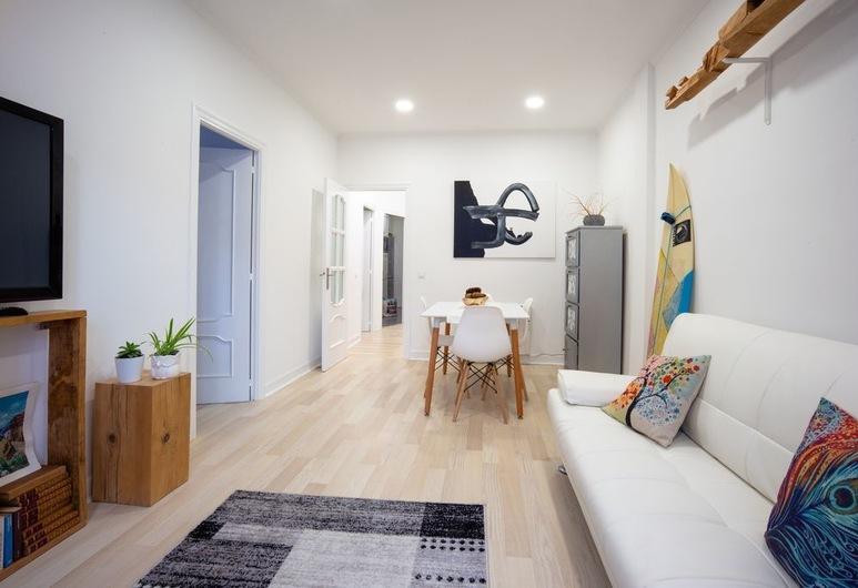 圣布拉斯酒店, San Sebastian, 公寓, 2 间卧室, 起居区