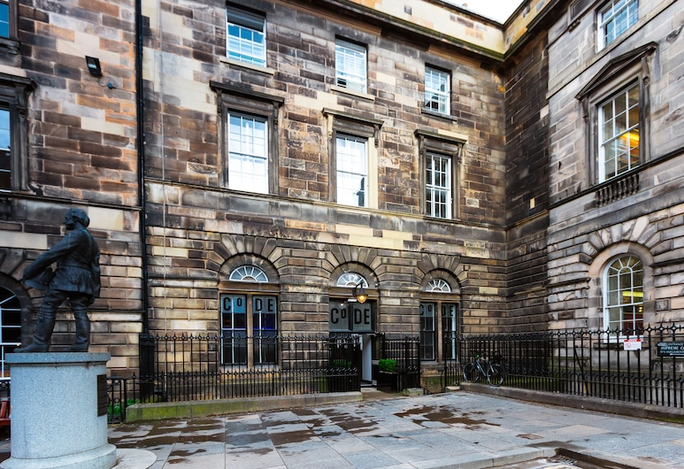 CoDE Pod  – The CoURT - Edinburgh, Edinborg, Hótelframhlið