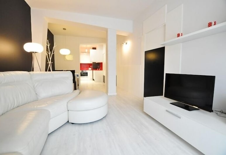 Apartamento Picasso, San Sebastian, Apartamento, 2 Quartos, Sala de Estar