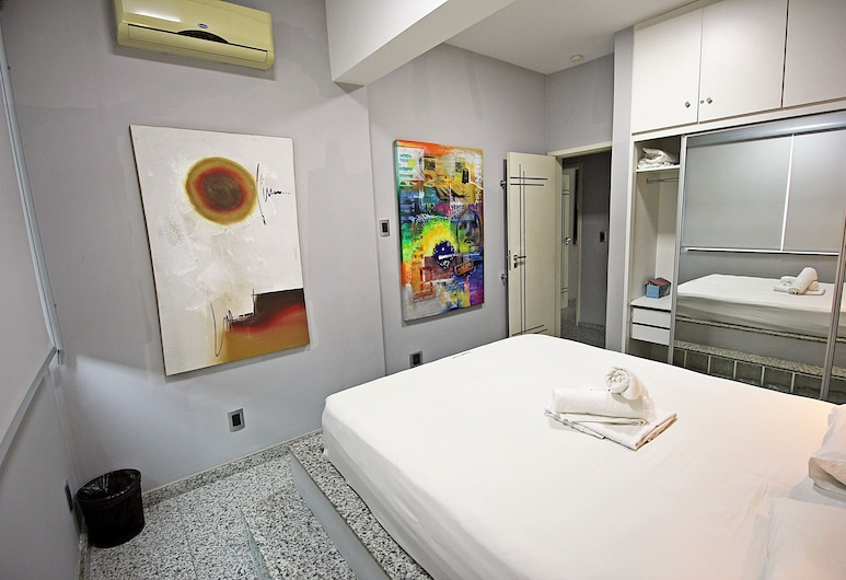Rio Spot Homes Q011 Cobertura Copacabana, Rio de Janeiro, Ateliérový apartmán, viacero postelí, Izba