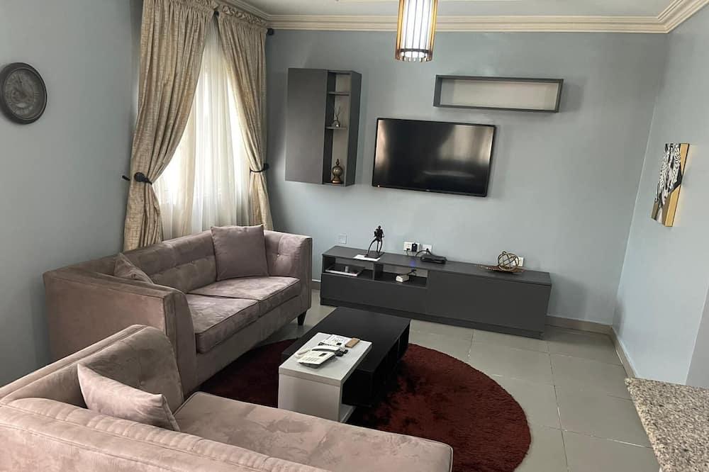 尊尚公寓, 2 間臥室 - 客廳