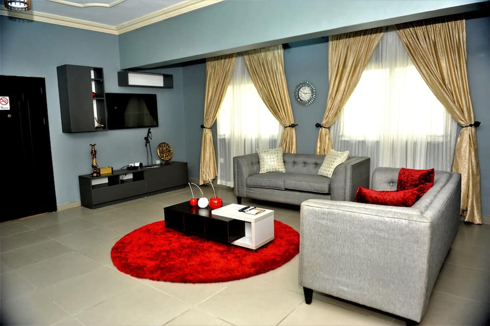 總統公寓, 2 間臥室 - 客廳