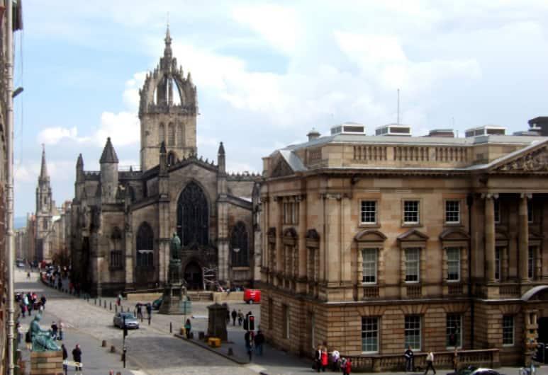 Lawnmarket, Edinburgh, Appartement, Meerdere bedden, Uitzicht vanuit de accommodatie
