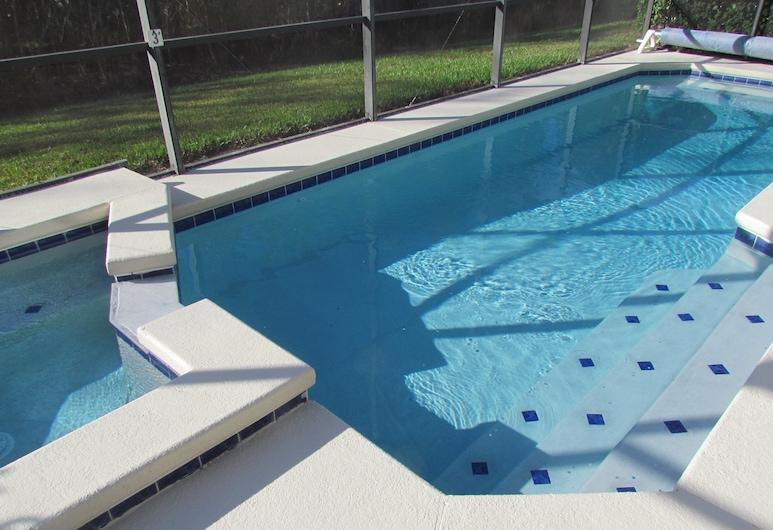 Grand Cumbrian - Four Bedroom Home, Kissimmee, Açık Yüzme Havuzu
