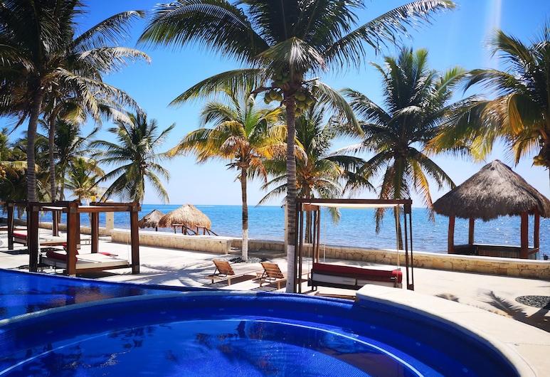 The Beach Residence, Puerto Morelos, Medence