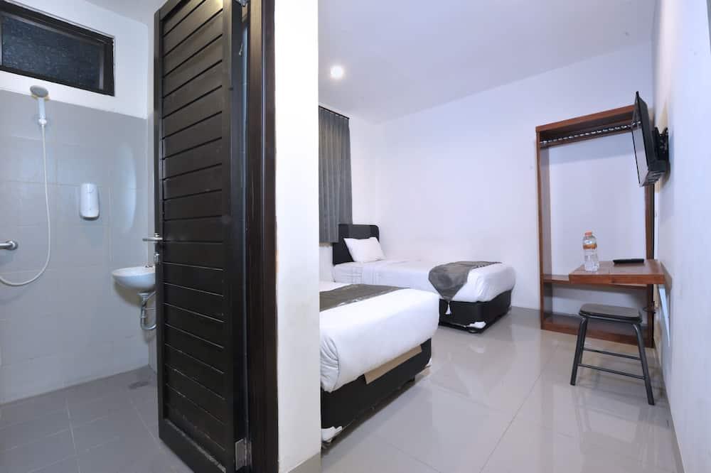 غرفة عادية لاثنين - سريران فرديان منفصلان - غرفة نزلاء