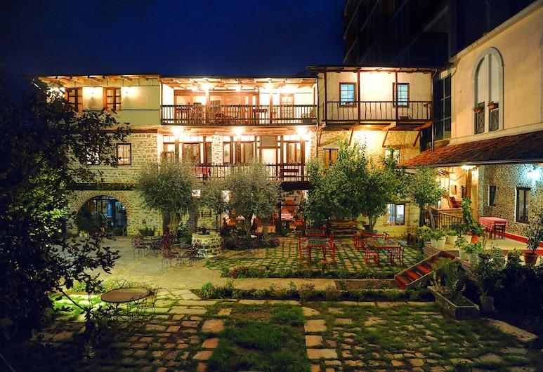 Hotel Tradita Geg & Tosk, Shkoder, Hotel Front – Evening/Night