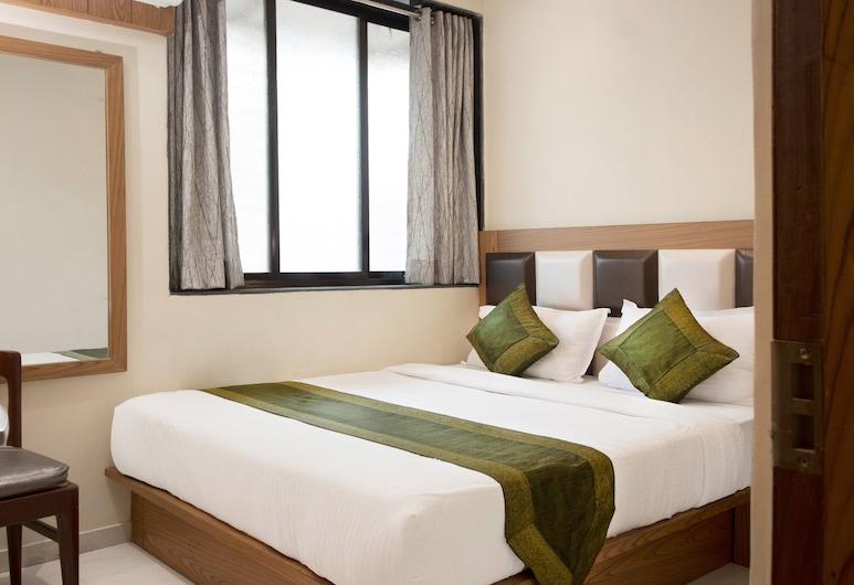Treebo Trip Residency Park, Mumbai, Pokój o podstawowym wyposażeniu, Łóżko queen, Pokój