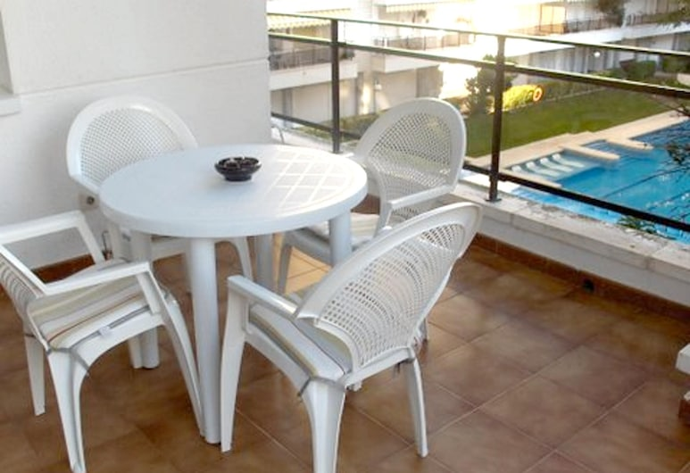 Apartment With one Bedroom in Lloret de Mar, With Wonderful City View, Pool Access and Terrace - 500 m From the Beach, Lloret de Mar, Terrasse/patio