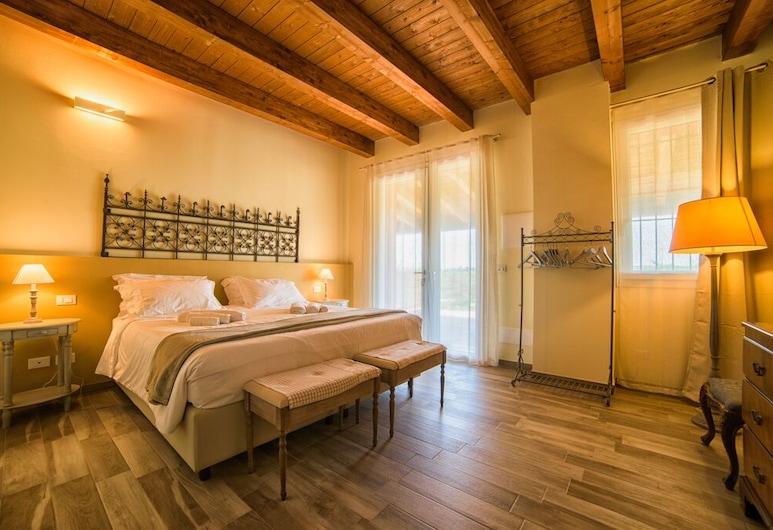 Agriturismo Podere Amati, Budrio, Quarto Duplo ou Twin, 1 cama king-size, Vista Jardim, Quarto